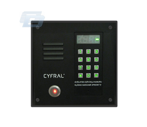 domofons CYFRAL PC1000-CP