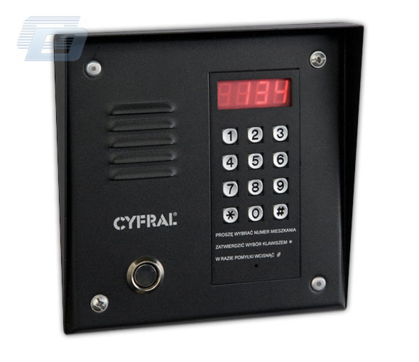 domofons CYFRAL PC1000