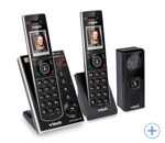 Bezvadu DECT domofons 2 klausules VTECH IS7121-2 WIRELESS