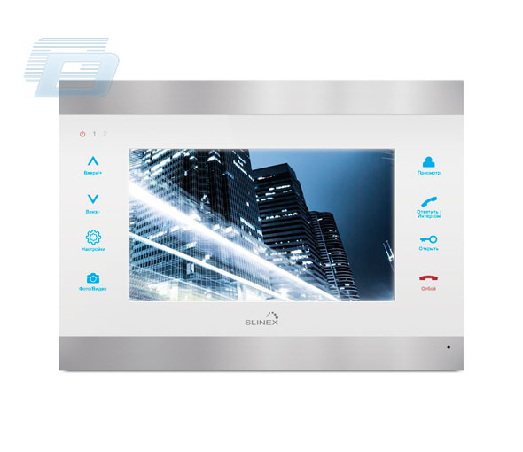 IP VIDEO DOMOFONS SLINEX - MONITORS SL-07IP