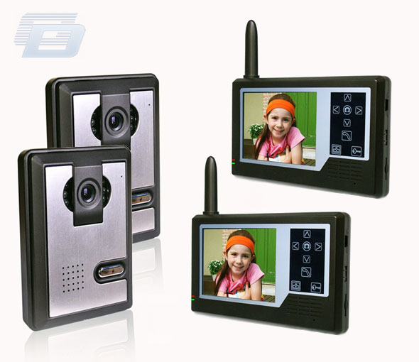 BEZVADU VIDEO DOMOFONS HZ-358MA22DVR