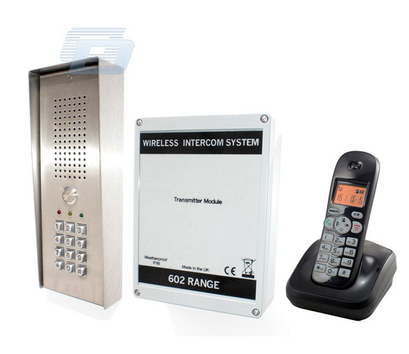 BEZVADU DOMOFONS WLS-WIRELESS DECT AUDIO + KEYPAD